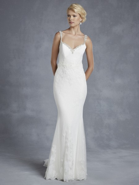 Harrison Wedding Dress - Blue by Enzoani 2015 Bridal Collection