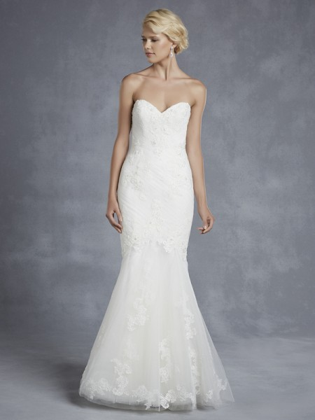 Hartfort Wedding Dress - Blue by Enzoani 2015 Bridal Collection