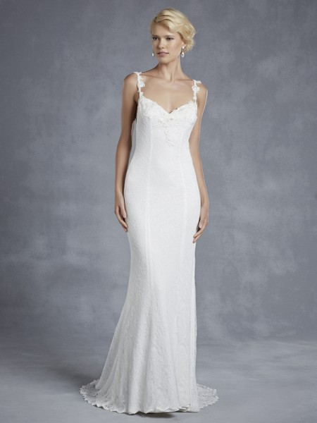 Hartwell Wedding Dress - Blue by Enzoani 2015 Bridal Collection