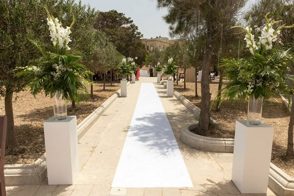 Hastings Gardens Wedding Venue in Malta