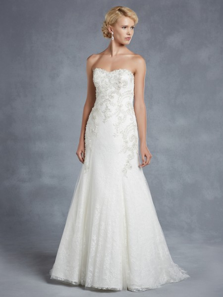 Hawthorne Wedding Dress - Blue by Enzoani 2015 Bridal Collection