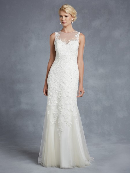 Hazelwood Wedding Dress - Blue by Enzoani 2015 Bridal Collection