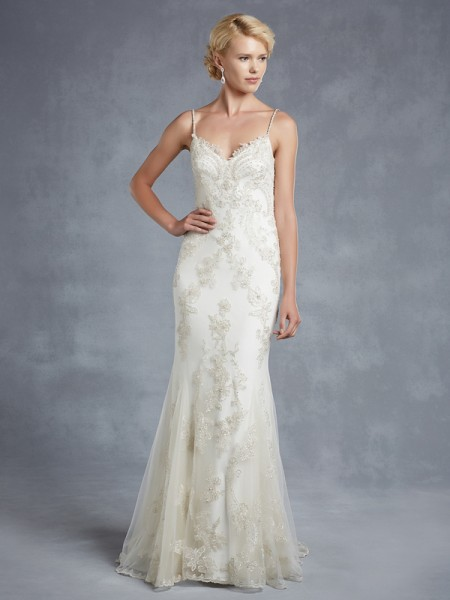 Henley Wedding Dress - Blue by Enzoani 2015 Bridal Collection