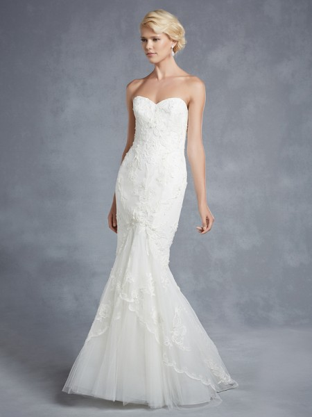 Hidalgo Wedding Dress - Blue by Enzoani 2015 Bridal Collection