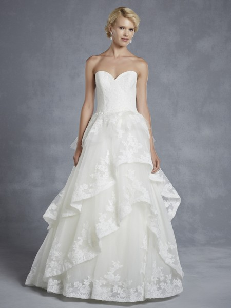 Hollister Wedding Dress - Blue by Enzoani 2015 Bridal Collection