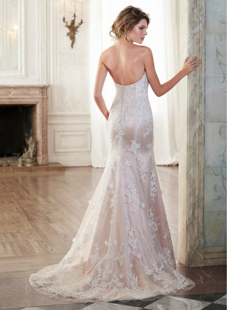 Back of Holly Wedding Dress - Maggie Sottero Spring 2015 Bridal Collection