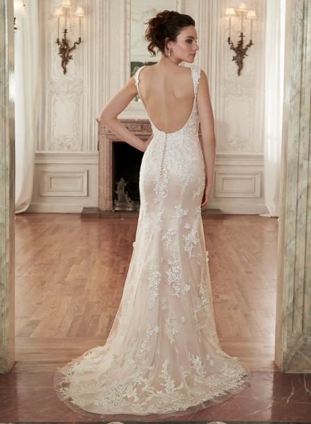 Back of Holly Marie Wedding Dress - Maggie Sottero Spring 2015 Bridal Collection