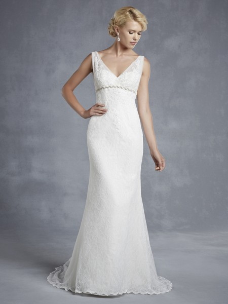 Honolulu Wedding Dress - Blue by Enzoani 2015 Bridal Collection