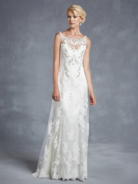 Hope Wedding Dress - Blue by Enzoani 2015 Bridal Collection