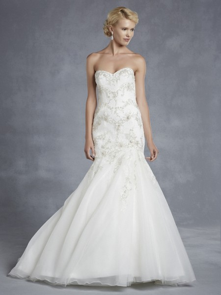 Houston Wedding Dress - Blue by Enzoani 2015 Bridal Collection