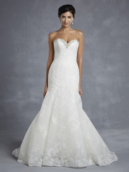 Huntsville Wedding Dress - Blue by Enzoani 2015 Bridal Collection
