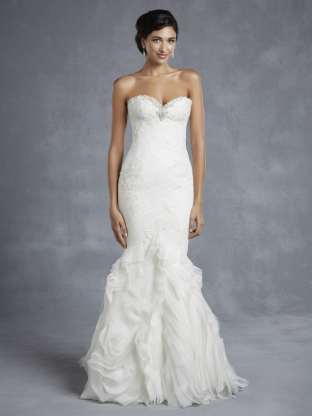 Hurlingham Wedding Dress - Blue by Enzoani 2015 Bridal Collection