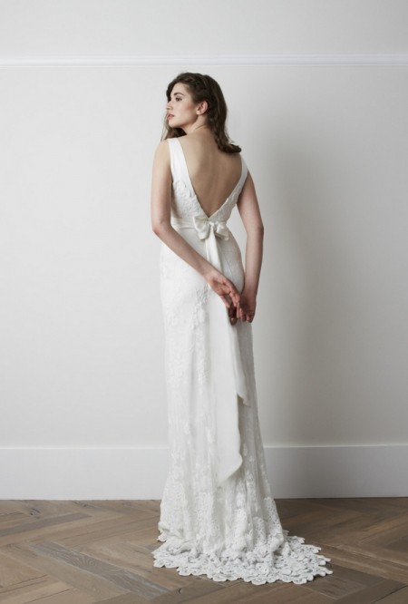 Back of Hurrel Wedding Dress - Charlie Brear 2015 Bridal Collection
