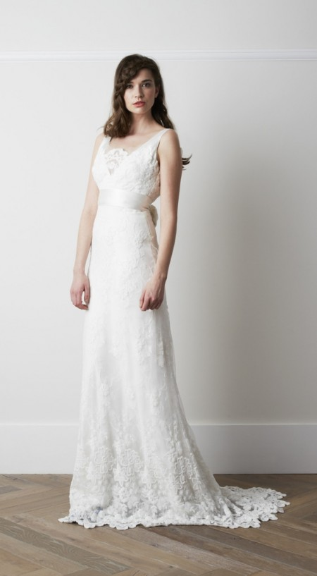 Hurrel Wedding Dress - Charlie Brear 2015 Bridal Collection
