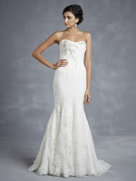 Hyde Wedding Dress - Blue by Enzoani 2015 Bridal Collection