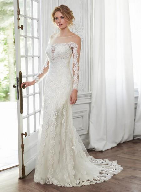 Inga Wedding Dress - Maggie Sottero Spring 2015 Bridal Collection