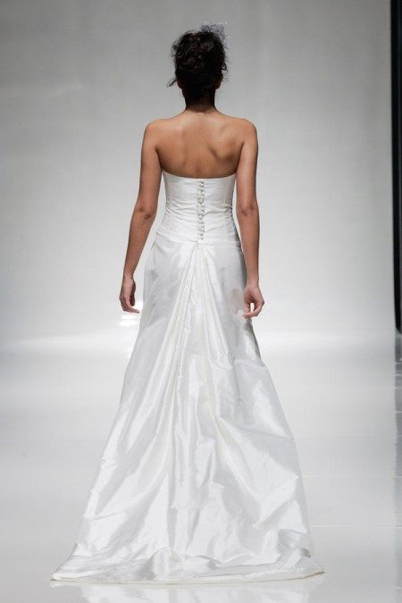 Back of Iolanthe Wedding Dress - Alan Hannah Floral Symphony 2015 Bridal Collection