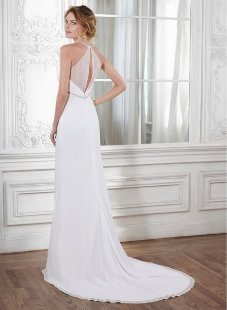 Back of Isla Wedding Dress - Maggie Sottero Spring 2015 Bridal Collection