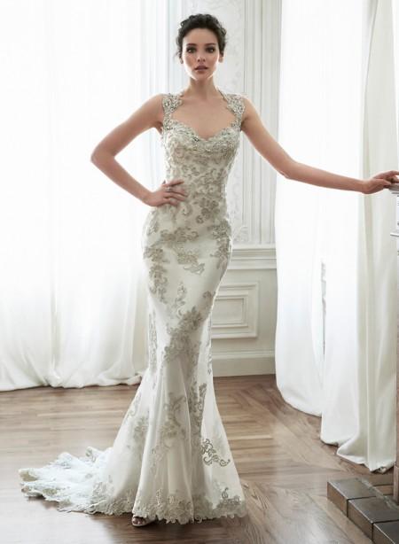Jade Wedding Dress - Maggie Sottero Spring 2015 Bridal Collection