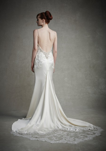 Back of Jamila Wedding Dress - Enzoani 2015 Bridal Collection