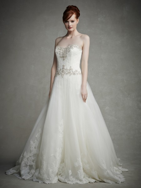 Jeanette Wedding Dress - Enzoani 2015 Bridal Collection