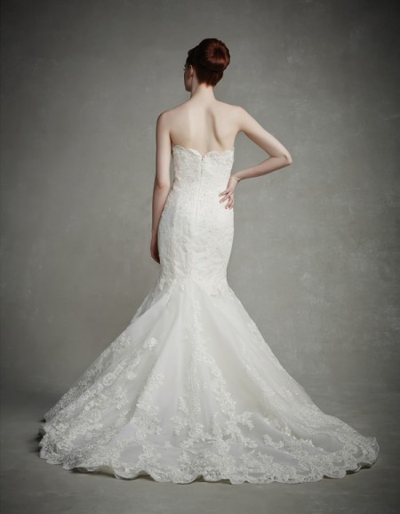Back of Jenny Wedding Dress - Enzoani 2015 Bridal Collection