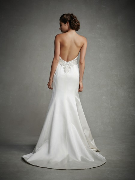 Back of Jeslyn Wedding Dress - Enzoani 2015 Bridal Collection