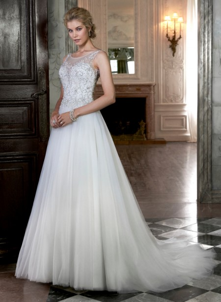 Joan Wedding Dress - Maggie Sottero Spring 2015 Bridal Collection