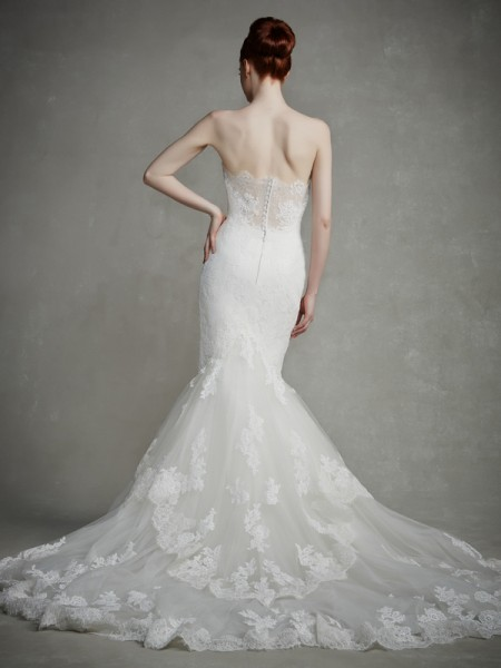 Back of Jodie Wedding Dress - Enzoani 2015 Bridal Collection
