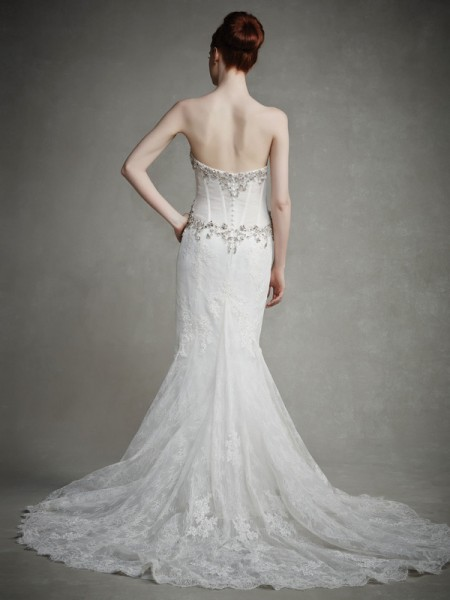 Back of Josephine Wedding Dress - Enzoani 2015 Bridal Collection
