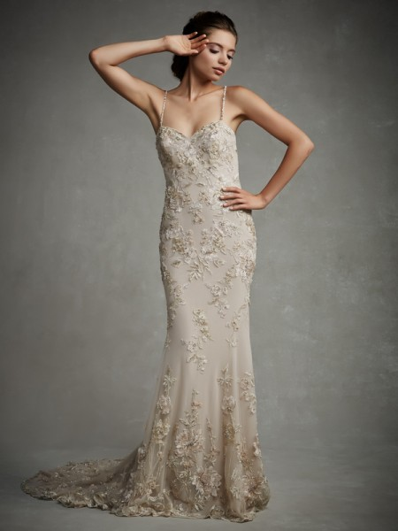 July Wedding Dress - Enzoani 2015 Bridal Collection