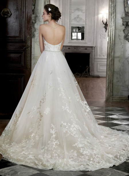 Back of Lauralee Wedding Dress - Maggie Sottero Spring 2015 Bridal Collection