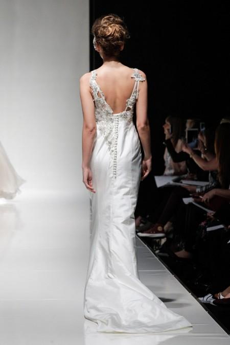 Back of Laurel Wedding Dress - Alan Hannah Floral Symphony 2015 Bridal Collection