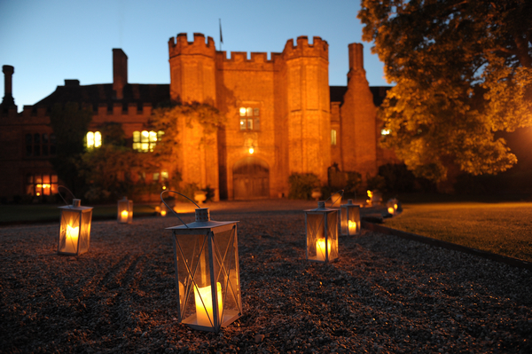 Leez Priory at Night