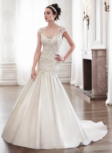 Lenya Wedding Dress - Maggie Sottero Spring 2015 Bridal Collection