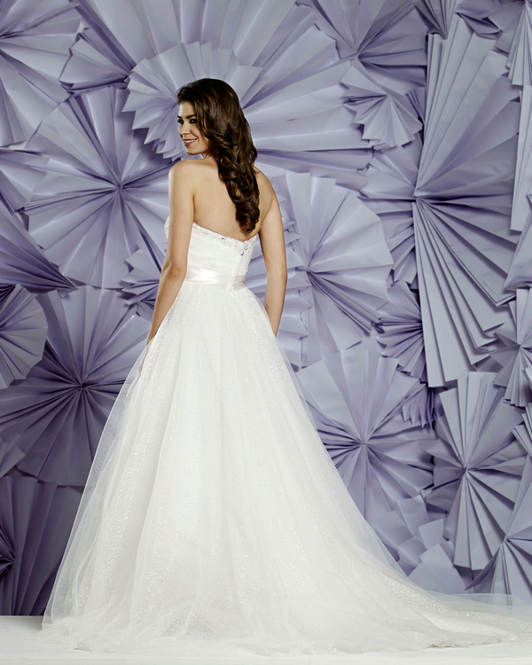 Back of Lille Wedding Dress - Heritage Balbier-Wyatt 2015 Bridal Collection