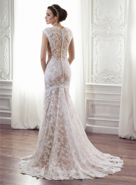 Back of Londyn Wedding Dress - Maggie Sottero Spring 2015 Bridal Collection