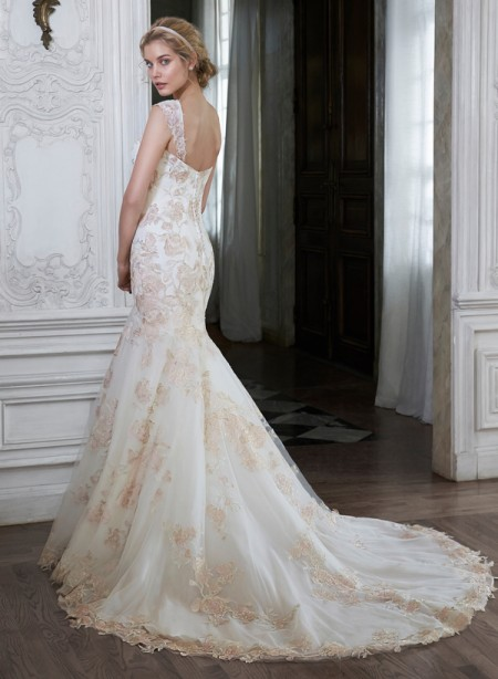 Back of Mariella Wedding Dress - Maggie Sottero Spring 2015 Bridal Collection