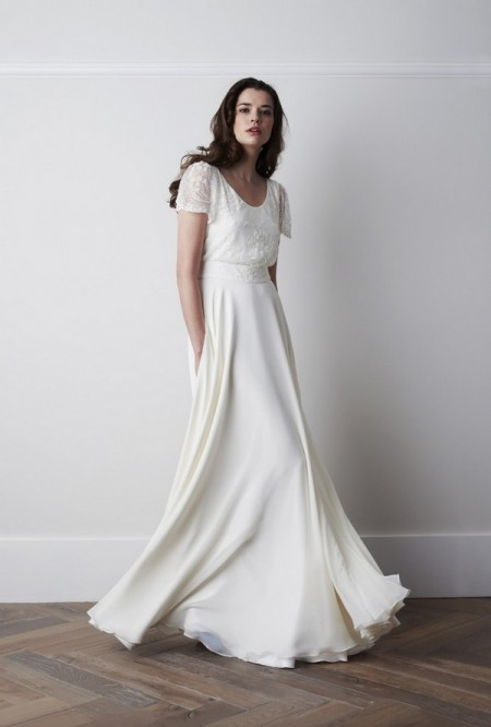 Marielle Wedding Dress - Charlie Brear 2015 Bridal Collection