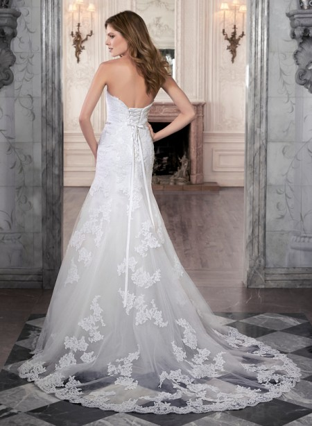 Back of Marty Wedding Dress - Maggie Sottero Spring 2015 Bridal Collection