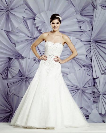 Memphis Wedding Dress - Heritage Balbier-Wyatt 2015 Bridal Collection