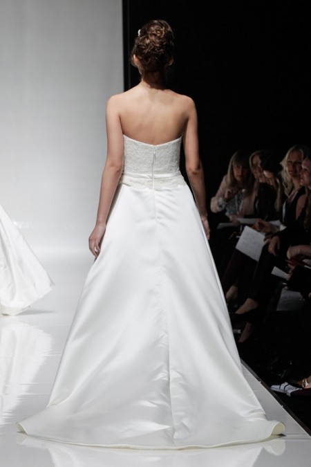 Back of Merideth Wedding Dress - Alan Hannah Floral Symphony 2015 Bridal Collection