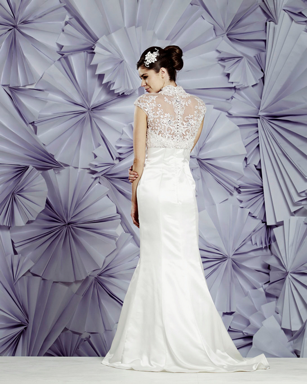Back of Naples Wedding Dress - Heritage Balbier-Wyatt 2015 Bridal Collection