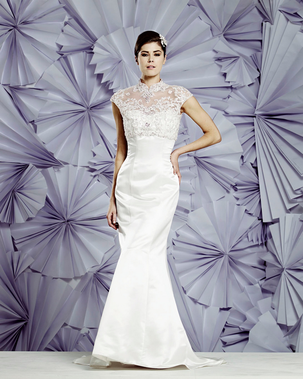 Naples Wedding Dress - Heritage Balbier-Wyatt 2015 Bridal Collection