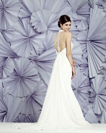 Back of Nassau Wedding Dress - Heritage Balbier-Wyatt 2015 Bridal Collection