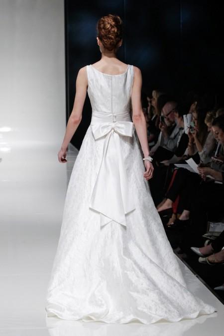 Back of Natalie Wedding Dress - Alan Hannah Floral Symphony 2015 Bridal Collection