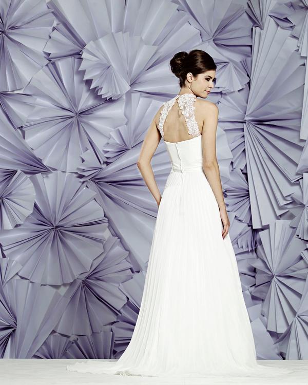 Back of Nicosia Wedding Dress - Heritage Balbier-Wyatt 2015 Bridal Collection