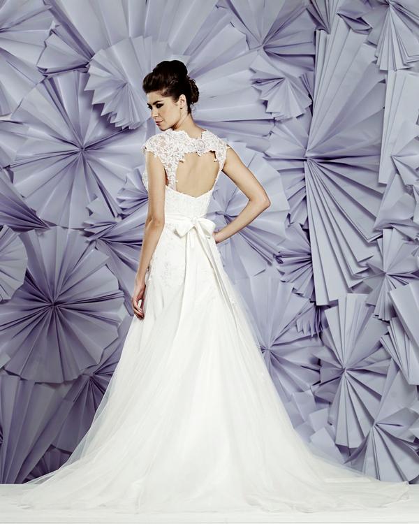 Back of Nimes Wedding Dress - Heritage Balbier-Wyatt 2015 Bridal Collection