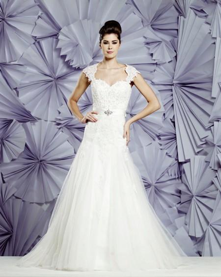 Nimes Wedding Dress - Heritage Balbier-Wyatt 2015 Bridal Collection