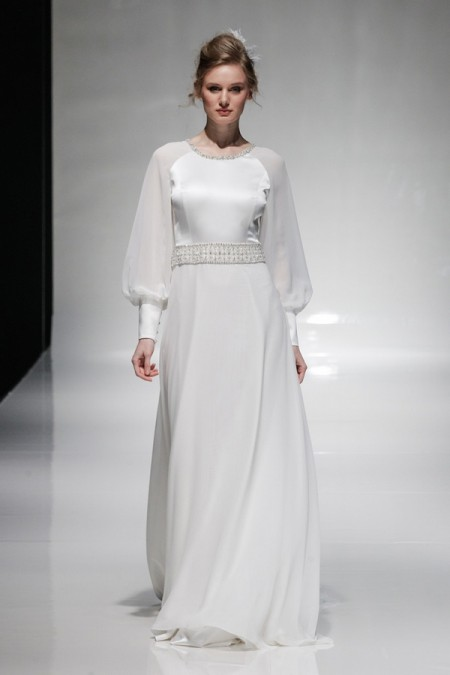 Olympia Wedding Dress - Alan Hannah Floral Symphony 2015 Bridal Collection